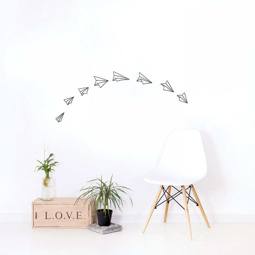 Wall Sticker - Paper Planes