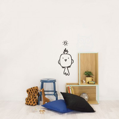 Wall Sticker - Glow I.t.d. - Bird And Owl