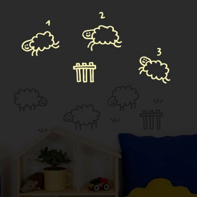 Wall Sticker - Glow I.t.d. - Counting Sheep
