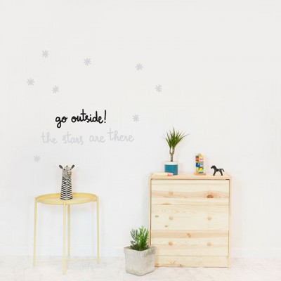 Wall Sticker - Glow I.t.d. - Go Outside