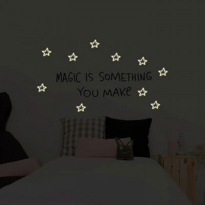 Wall Sticker - Glow I.t.d. - Magic Is Something You Make