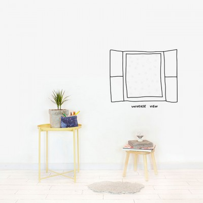 Wall Sticker - Glow I.t.d. - Window To The Universe